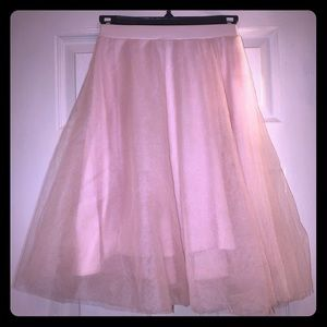 CHARLOTTE RUSSE XS Pink Tulle Tutu Skirt Darling!